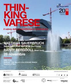 Thinking Varese @ Fai Villa e Collezione Panza