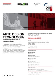 Arte Design Tecnologia @ Ville Ponti - Sala Andrea