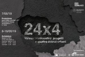 Mostra 24x4 Preview @ Ordine Architetti PPC