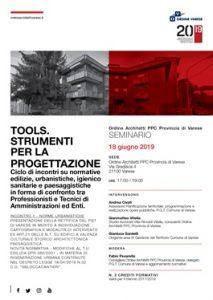 Tools. Strumenti per la progettazione @ Ordine Architetti PPC