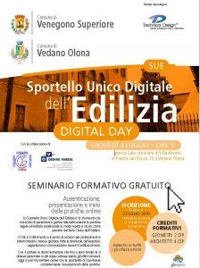 Digital Day @ Sala consiliare di Villa Aliverti