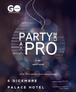 Party like a pro @ Palace Hotel