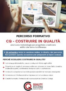 CQ - Costruire in qualità @ Webinar sincrono