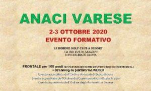 """Anaci Varese """"Condominio - interventi manutentivi e innovativi"""" @ Webinar o Le Robinie"""
