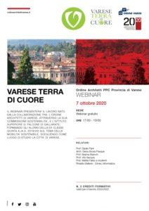 Varese Terra di cuore @ Webinar sincrono