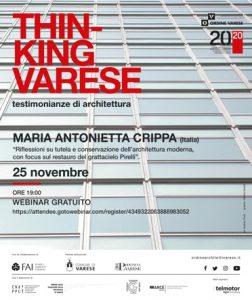 Maria Antonietta Crippa @ Webinair sincrono