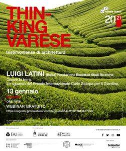 Thinking Varese - Luigi Latini @ Webinair sincrono