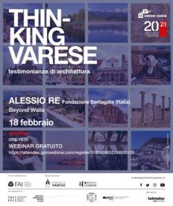 Thinking Varese - Alessio Re @ Webinair sincrono