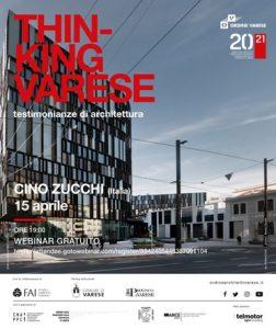 Thinking Varese - Cino Zucchi @ Webinair sincrono