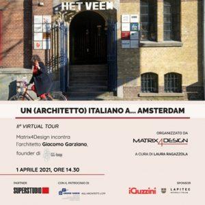 Un (architetto) italiano a…Amsterdam @ Webinair sincrono