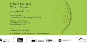 Premio Ecologia città di Varese - Salvatore Furia @ Diretta streaming