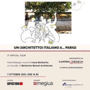 Un (architetto) italiano a… Parigi @ Webinair sincrono