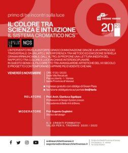 Il colore tra scienza e intuizione @ Villa Recalcati (sede Provincia)