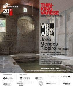 Thinking Varese - João Mendes Ribeiro (Portogallo) @ Fai Villa Panza - Biumo e webinar